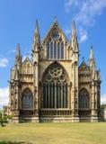 大教堂在林肯,英国 库存图片