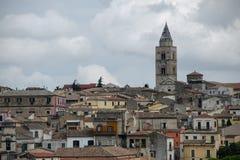 大教堂在梅尔菲,巴斯利卡塔,意大利 免版税库存照片