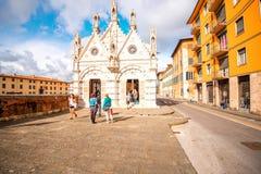 大教堂在比萨镇 图库摄影
