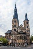 大教堂在波恩,德国 免版税库存照片