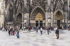 大教堂在科隆,德国 库存照片