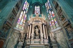 大教堂在米兰 免版税图库摄影