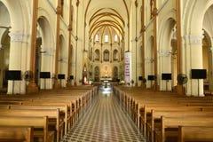 大教堂在胡志明市 库存照片