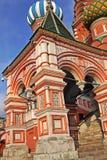 大教堂在莫斯科保佑的瓦西里,俄罗斯 库存图片
