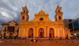 大教堂在萨尔塔 免版税库存图片