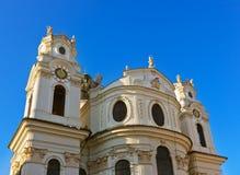 大教堂在萨尔茨堡奥地利 库存图片
