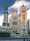 大教堂在西勒鸠斯,纽约 免版税库存图片