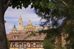 大教堂在西班牙。 免版税库存图片