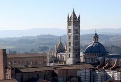 大教堂在锡耶纳 免版税库存图片