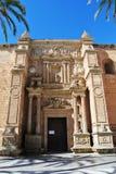 大教堂在阿尔梅里雅,安大路西亚 图库摄影