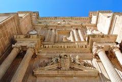 大教堂在阿尔梅里雅 免版税库存照片