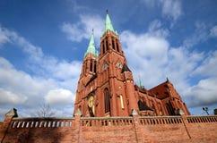大教堂在雷布尼克 库存图片