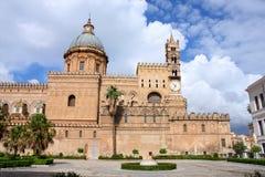 大教堂在巴勒莫,意大利 免版税库存图片