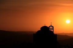 大教堂在黎巴嫩 免版税库存照片