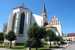 大教堂在Levoca 库存图片