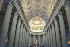 大教堂在Marino内部的圣 图库摄影
