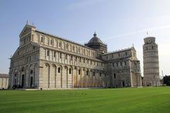 大教堂在Piza 库存照片