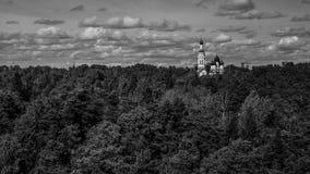 大教堂在Zelenogorsk 库存照片