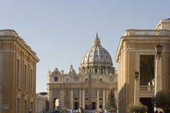 大教堂城市彼得圣徒梵蒂冈 免版税库存图片