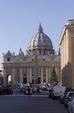 大教堂城市彼得圣徒梵蒂冈 库存照片