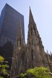 大教堂城市新的帕特里克s st约克 库存照片