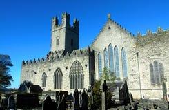 大教堂城市爱尔兰五行民谣玛丽s st 库存照片