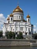 大教堂基督・耶稣・莫斯科救主 免版税库存图片