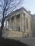 大教堂基督国王在卡托维兹,波兰 图库摄影
