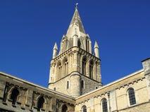大教堂基督教会牛津大学 免版税图库摄影