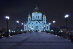 大教堂基督・莫斯科救主 免版税库存照片
