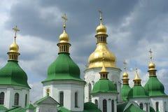 大教堂基辅索非亚st乌克兰 免版税库存照片