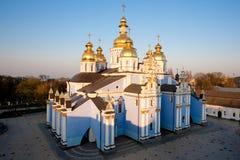 大教堂基辅mikhailovsky乌克兰 免版税库存照片