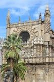 大教堂塞维利亚西班牙 库存照片