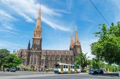 大教堂墨尔本帕特里克s st 免版税图库摄影