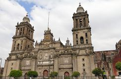 大教堂墨西哥城II 库存照片