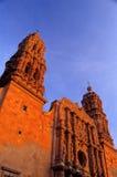 大教堂墨西哥zacatecas 免版税库存照片