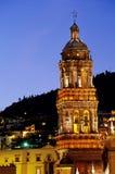 大教堂墨西哥zacatecas 库存照片