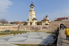 大教堂复合体 免版税库存照片