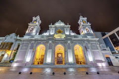 大教堂大教堂在萨尔塔,阿根廷 库存图片