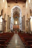 大教堂大教堂cefalu西西里岛 图库摄影