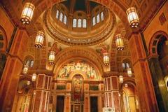 大教堂大教堂dc马修圣徒华盛顿 免版税库存照片