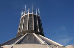 大教堂天主教徒利物浦 免版税库存照片