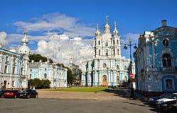 大教堂尼古拉斯・彼得斯堡俄国圣徒st 免版税库存图片