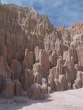 大教堂峡谷视图 库存图片