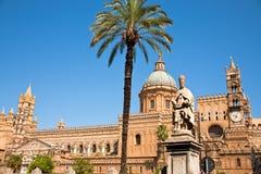 大教堂巴勒莫西西里岛 免版税库存图片