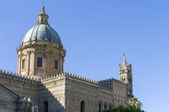 大教堂巴勒莫 免版税库存照片