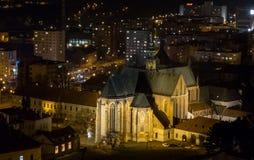 1323年大教堂布尔诺编译了未成年人 免版税图库摄影