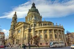 大教堂布达佩斯匈牙利圣徒斯蒂芬 免版税库存照片
