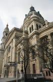 大教堂布达佩斯匈牙利s st斯蒂芬 免版税库存图片