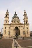 大教堂布达佩斯s st斯蒂芬 免版税库存图片